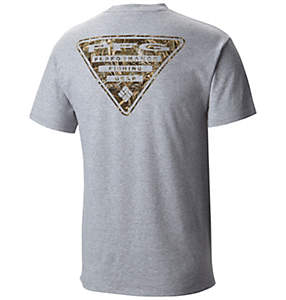 Men's PFG Triangle™ Camo Short Sleeve Tee Shirt
