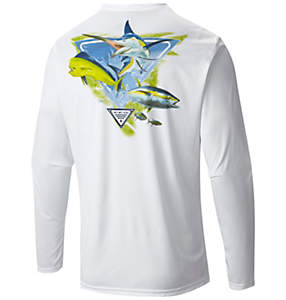 Men's PFG By the Shore™ Offshore Slam Long Sleeve Tee Shirt