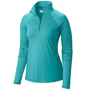 Women's Saturday Trail™ Stripe Half Zip Shirt