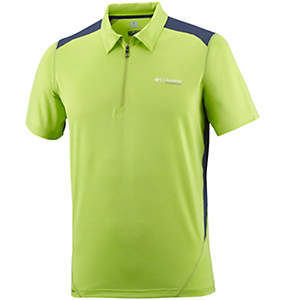 Men's Titan Ice™ Zip Polo Shirt