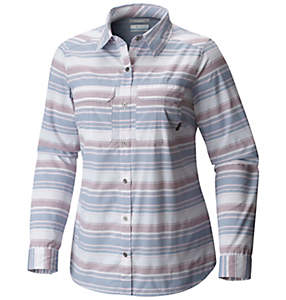 Pilsner Peak™ Stripe Long Sleeve Shirt - Plus Size