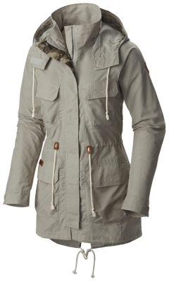 Women's Tillicum Bridge Water Resistant Long Hooded Jacket | Columbia