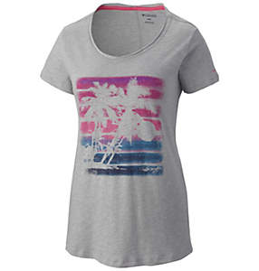 Women's Sunset Stripe™ Short Sleeve Tee Shirt