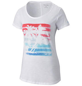 Women's Sunset Stripe™ Short Sleeve Tee Shirt