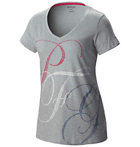 Women's PFG™ Monogrammed Short Sleeve Tee Shirt