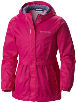 photo: Columbia Girls' Pardon My Trench Rain Jacket
