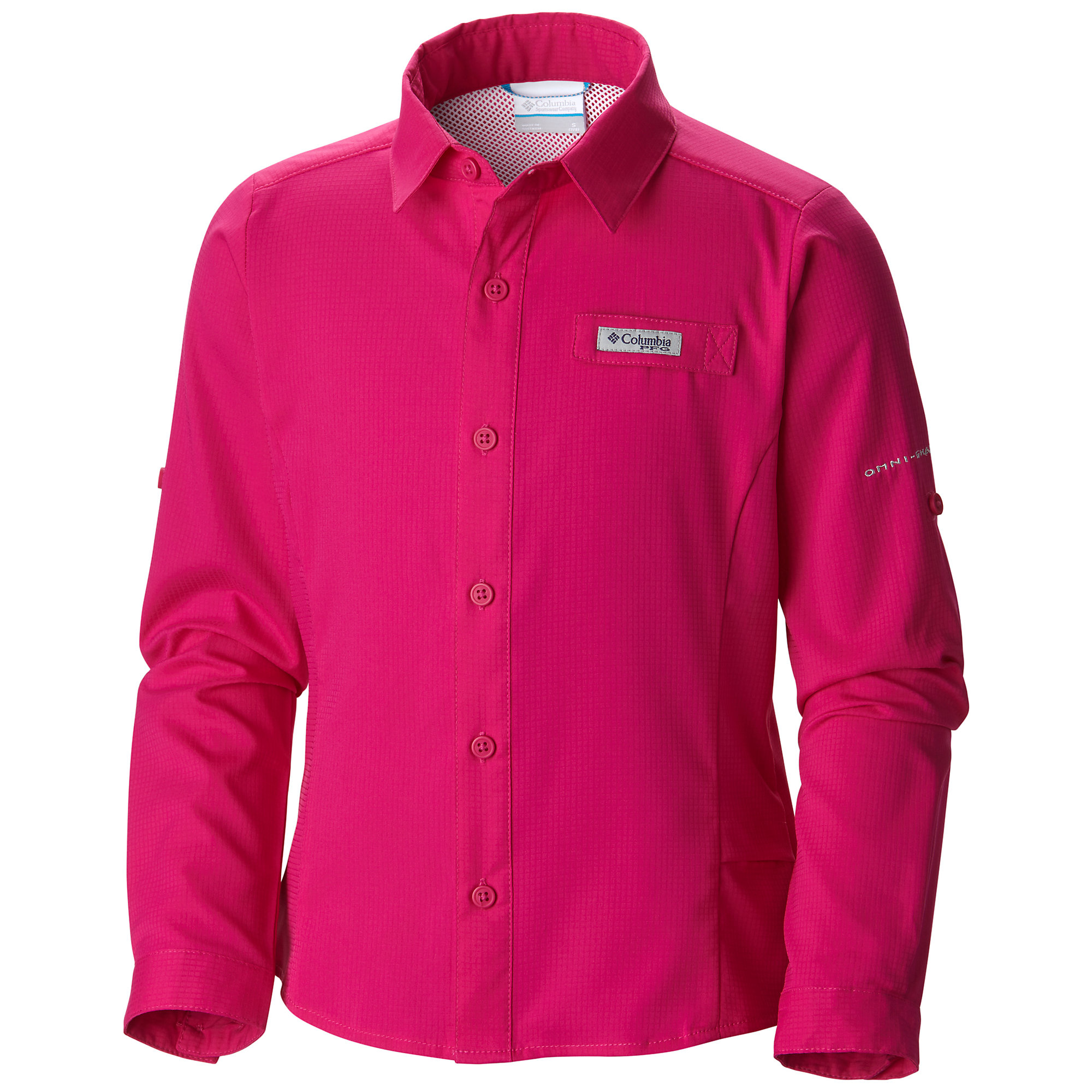 photo: Columbia Girls' Tamiami Long Sleeve Shirt hiking shirt