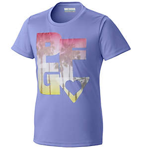 Girl's PFG Haze™ Graphic Tee Shirt