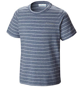 Boy's Out and About™ Stripe Crew Shirt