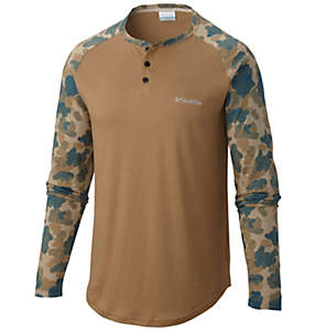 Men's Merepoint™ Long Sleeve Henley Shirt