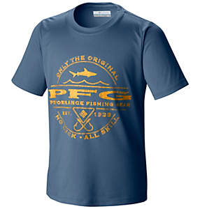 Boy's PFG Sportsman Shark™ Graphic Tee