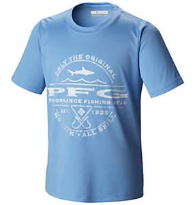 Boy's PFG Sportsman Shark™ Graphic Tee