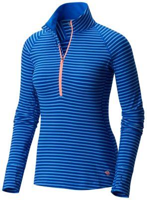 Mountain Hardwear Butterlicious Stripe Long Sleeve Half-Zip
