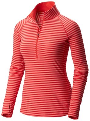 Mountain Hardwear Butterlicious Stripe Long Sleeve Half-Zip