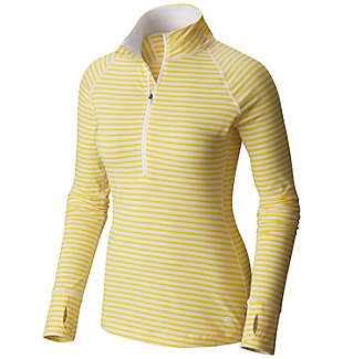 Women's Butterlicious™ Stripe Long Sleeve Half-Zip