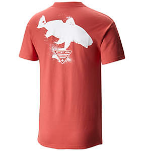 Men's PFG Silhouette Series™ Redfish Short Sleeve Tee Shirt
