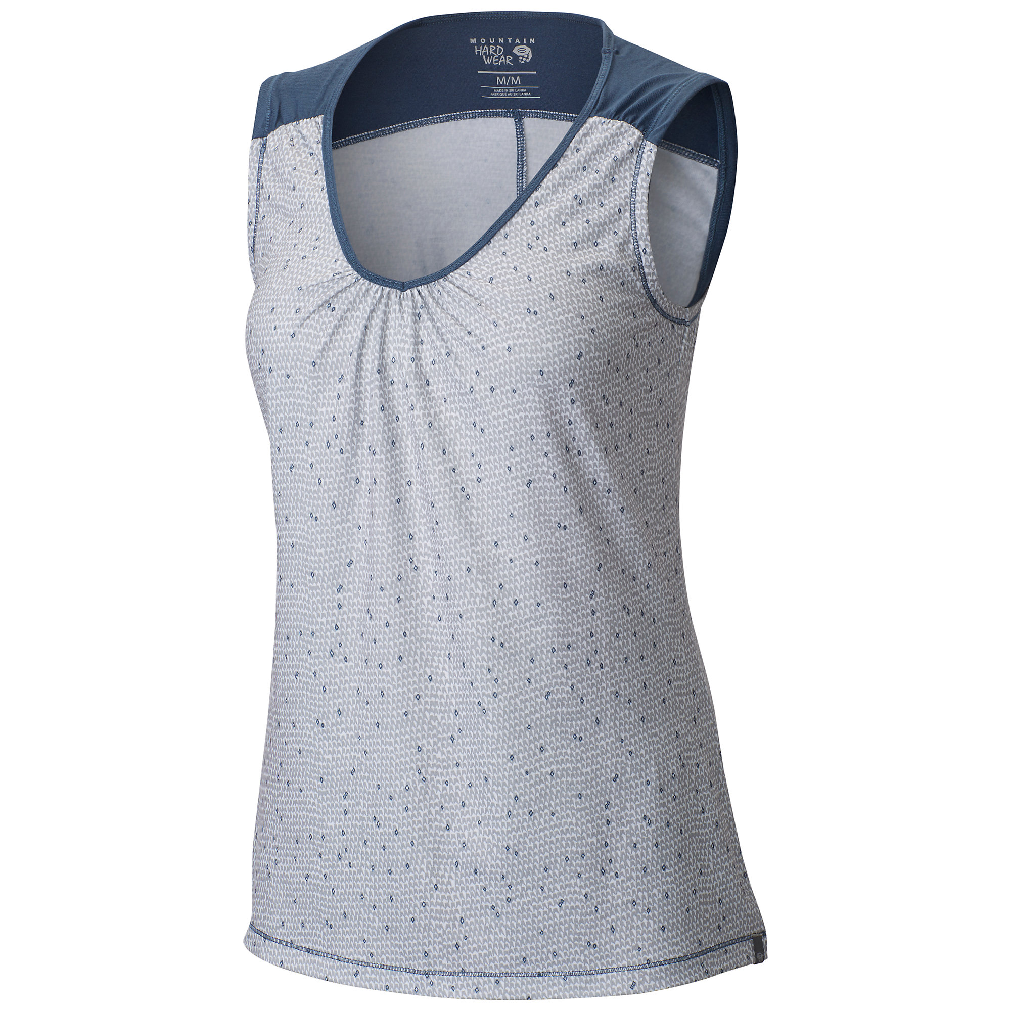 Mountain Hardwear DrySpun Printed Sleeveless T