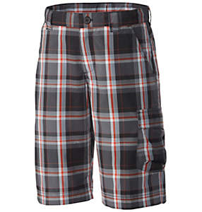 Boys' Silver Ridge™ III Plaid Short