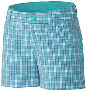Girl's Silver Ridge™ III Plaid Short