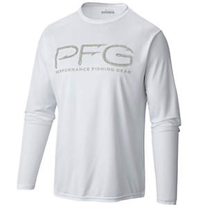Men's Terminal PFG Hooks™ Long Sleeve Tee Shirt