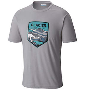 Men's National Parks Tee Shirt - Glacier