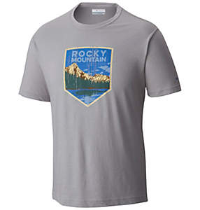 Men's National Parks Tee Shirt - Rocky Mountain