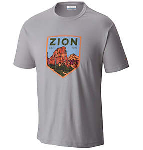 Men's National Parks Tee Shirt - Zion