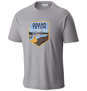 Men's National Parks Tee Shirt - Grand Teton
