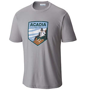 Men's National Parks Tee Shirt - Acadia
