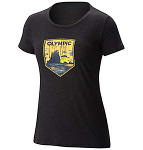 Women's National Parks Tee Shirt - Olympic