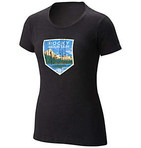 Women's National Parks Tee Shirt - Rocky Mountain