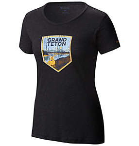 Women's National Parks Tee Shirt - Grand Teton
