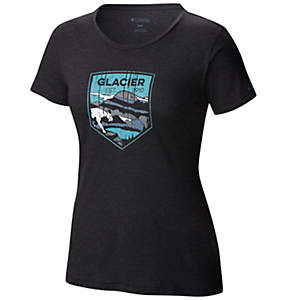 Women's National Parks Tee Shirt - Glacier