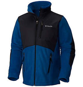 Boy's Granite Mountain™ Fleece Overlay Jacket