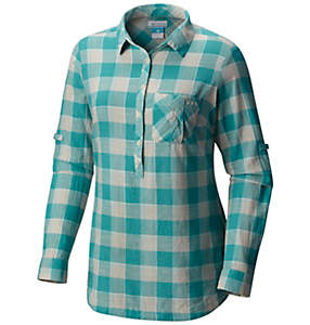 Women's PFG Coral Springs™ II Woven Long Sleeve Shirt - Plus Size