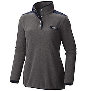 Women's PFG Harborside™ Overlay Fleece Pullover Jacket