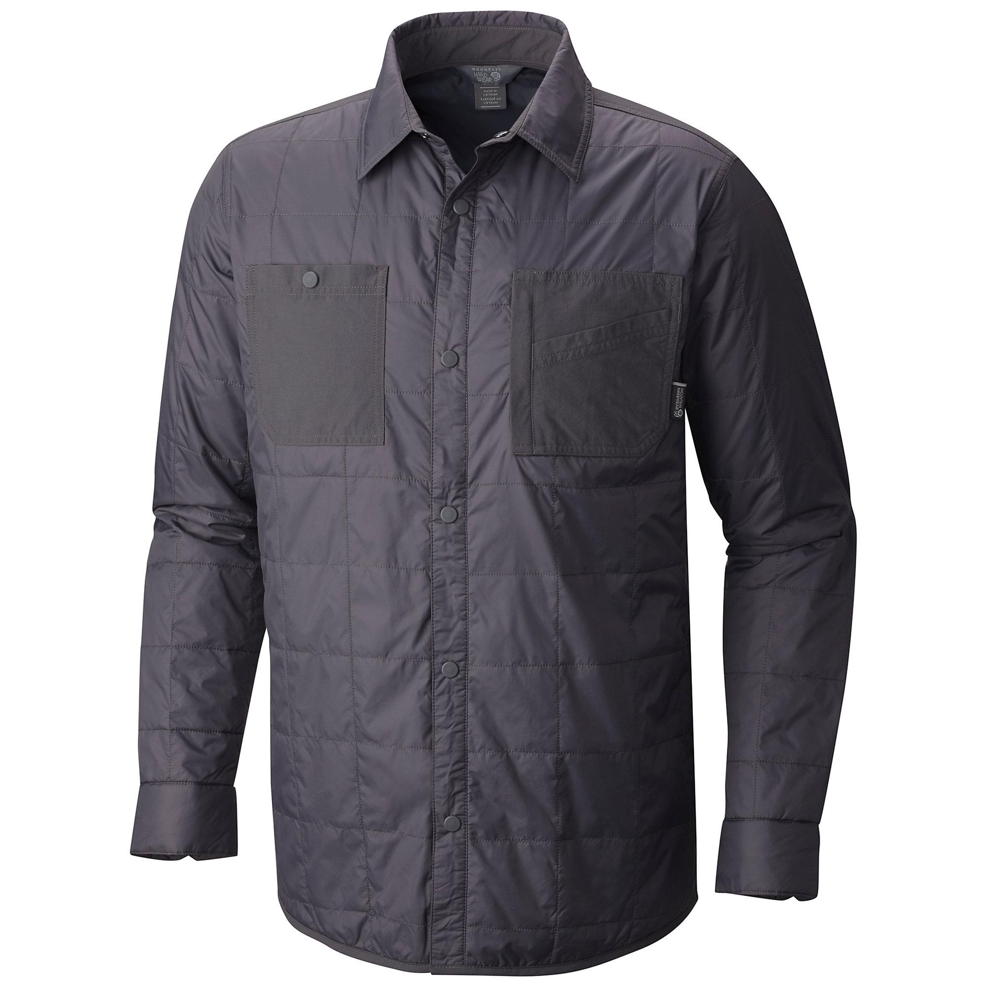 photo: Mountain Hardwear Trekkin Insulated Shacket synthetic insulated jacket