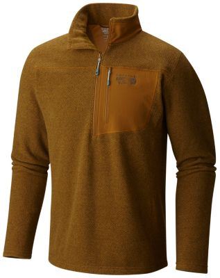 photo: Mountain Hardwear Toasty Twill Fleece 1/2 Zip