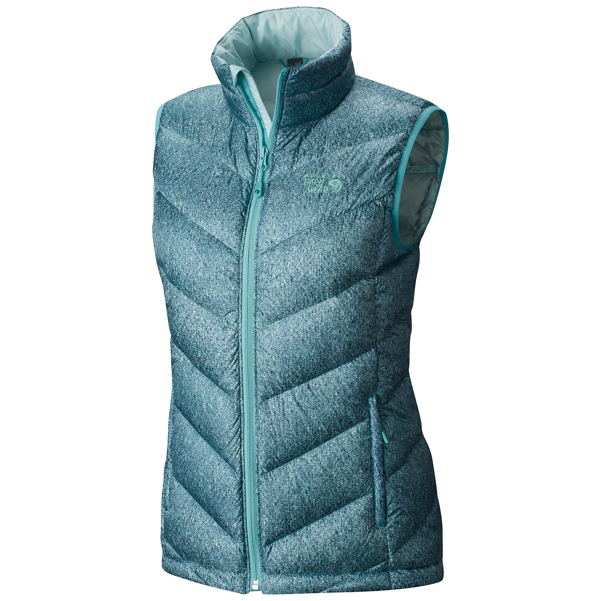 Mountain Hardwear Ratio Printed Down Vest