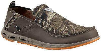 Columbia men s pfg bahama vent loco mossy oak camo slip for Columbia fishing shoes
