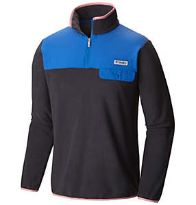 Men's PFG Harborside™ Overlay Fleece Pullover Jacket