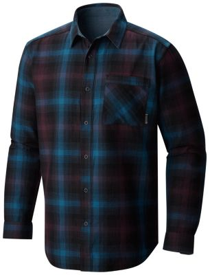 photo: Mountain Hardwear Reversible Plaid Long Sleeve Shirt