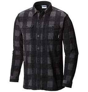 Men's Forest Park™ Printed Fleece Overshirt