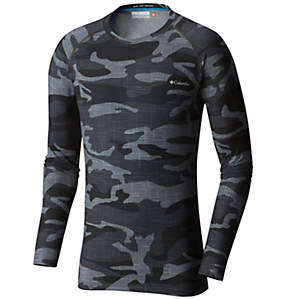 Men's Midweight Stretch Camo Long Sleeve Top