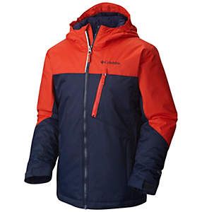 Boy's Double Grab™ Insulated Hooded Jacket