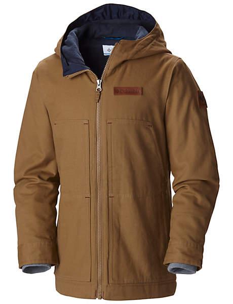Manteau à capuchon et à doublure en laine polaire Loma Vista™ pour garçon