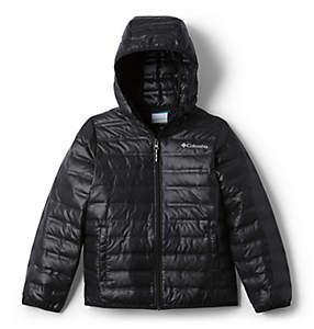 Kid's Flash Forward Hooded Down Jacket - Youth