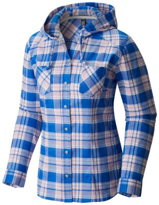 Mountain Hardwear Stretchstone Hooded Long Sleeve Shirt