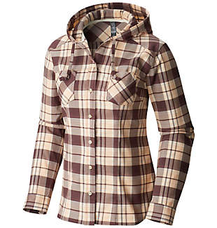 Women's Stretchstone™ Hooded Long Sleeve Shirt