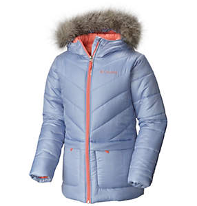 Girl's Katelyn Crest™ Mid Insulated Hooded Jacket